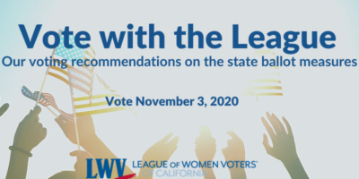 Vote with the League hands